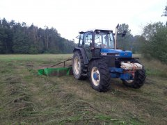 Ford 7740 & Deutz Fahr KM24