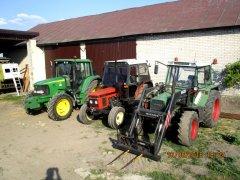 John Deere 6220, Zetor 7711 i Fendt Farmer 306 LSA