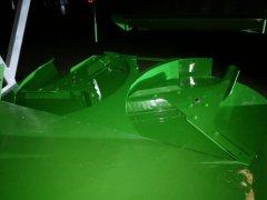 John Deere W540 rozrzutnik plew