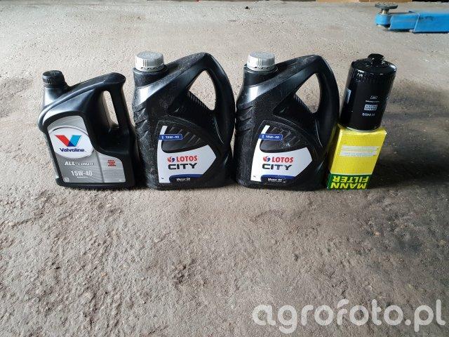 Wymiana oleju w C-360