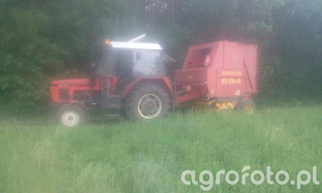 zetor 7211 new holland 654