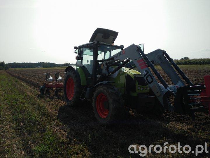 Claas Celtis 446 & Kverneland F160