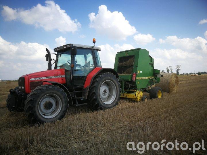 Massey Ferguson 6255+ John Deere 590