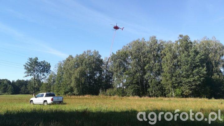 Helikopter + piła