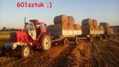 Białoruś Jumz z przyczepami