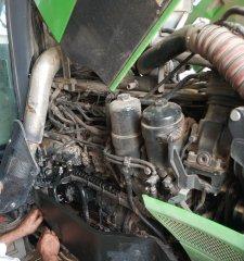 Deutz fahr agrotron k610 - hydraulika szarpie
