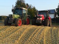 FENDT 308C FARMER & MF
