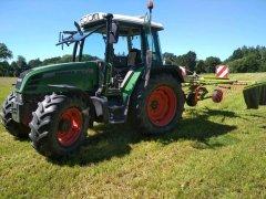 Fendt Farmer 307C & Claas Liner 390s