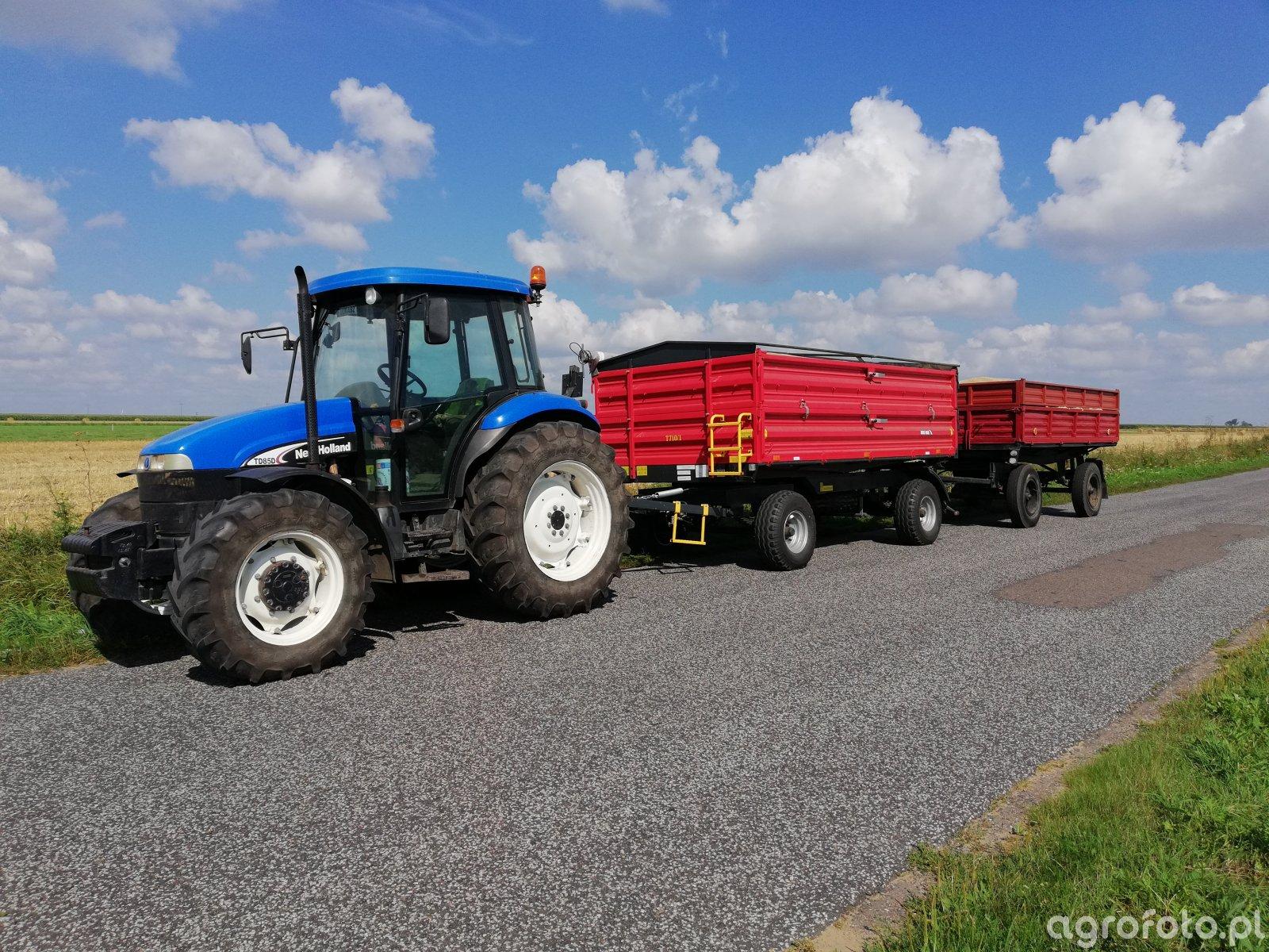 New Holland TD85D+Metal Fach T710/1+D 47