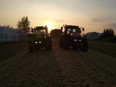 MF 7615 & Fendt 308C FARMER