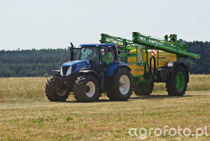 New Holland T7030 + Dammann Profi-Class