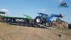 New Holland T5060 & Pronar T026
