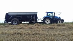 New Holland T6.175 + Brocharf Dragon 2001 Black Line