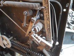 Prasa Carraro Prairie 1200 - mechanizm obowiązywania siatką