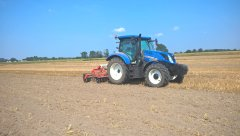 New Holland T6.155 + Grano System