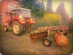 Ursus C 360+Talerzówka Famarol Słupsk 2,70