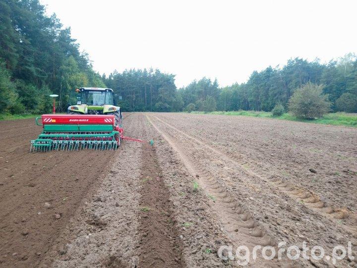 Claas Arion 440 CIS + Agro-Masz