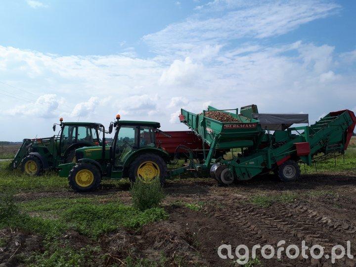 John Deere 5065E + Bergmann K100