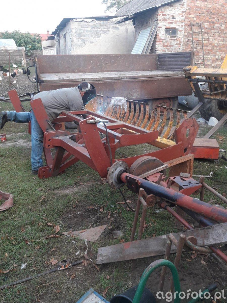 Budowa agregatu uprawowo-siewnego