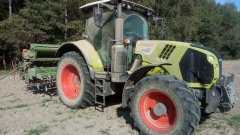 Claas Arion 610, Amazone ad301