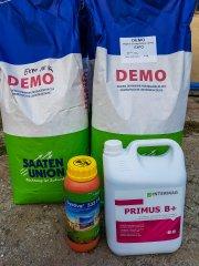 Doprawianie pszenicy ozimej EXPO - Systiva i Primus