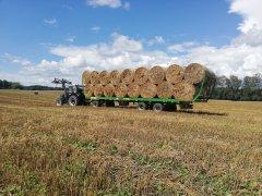 Farmtrac 675 DT + Pronar T026