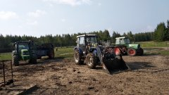 Farmtrac 675DT, John Deere 5090R, Fendt 306LSA