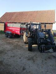 Farmtrac 690 DT + Unia Tytan 10TD Premium