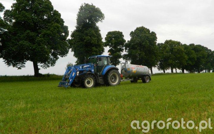 New Holland T5.105 /  Pomot Chojna T507/3 4000