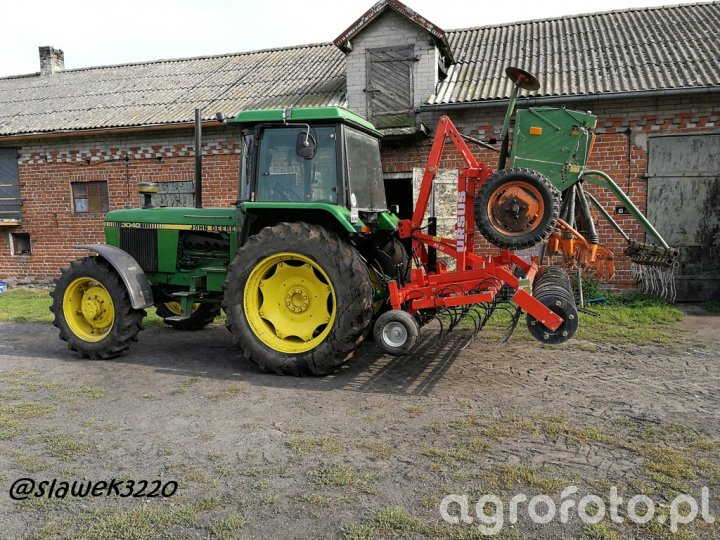 JD 3040 + Ursus AS3 + Amazone D7