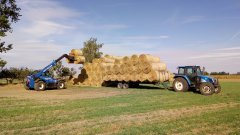 New Holland LM7.42 i New Holland TL90A