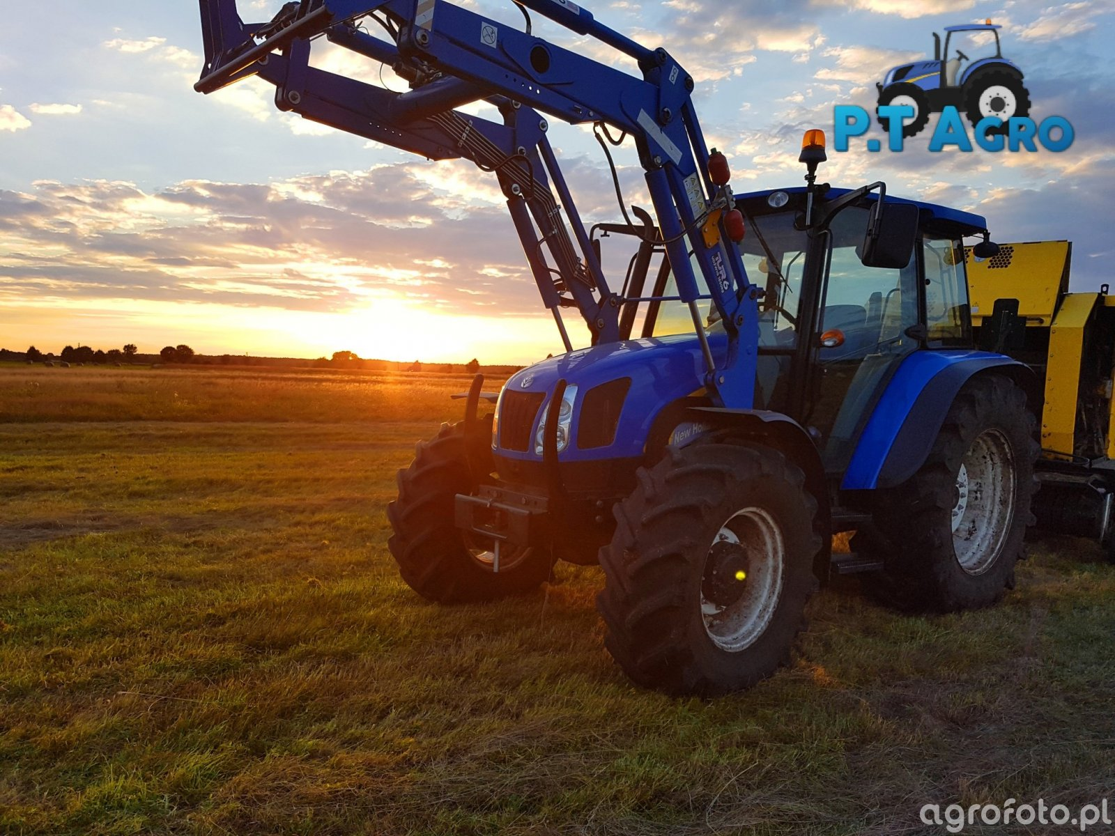 New Holland T5060 i BR6090