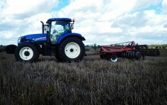 New Holland T6.175 + Akpil 3.15m