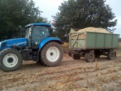 New Holland T6.175 + HL 60.11