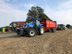 New Holland t7.210 + Brochard Dragon 2000
