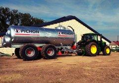 Pichon TCi 15700 + John Deere 155M