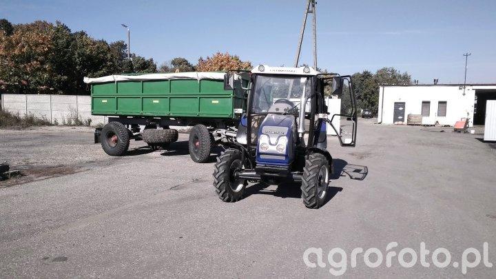 Farmtrac 555 DT + HL 8011