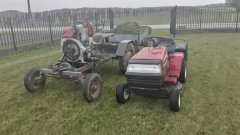 Ciągnik Sam  & Traktorek MTD