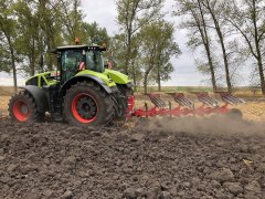 Claas Axion 960 + vogel&noot