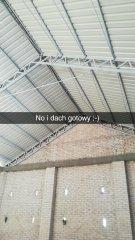 Dach w stodole