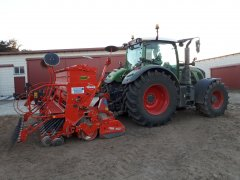 kuhn integra + fendt 718