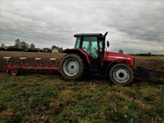 Massey Ferguson 6260 + Charrues Demblon t68 ns