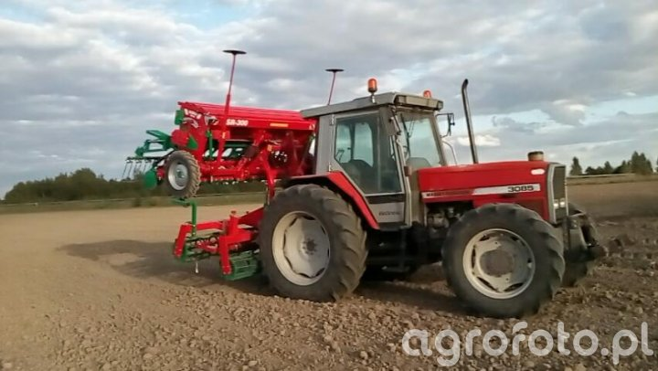 Massey ferguson 3085+ Agromasz sr300/as30