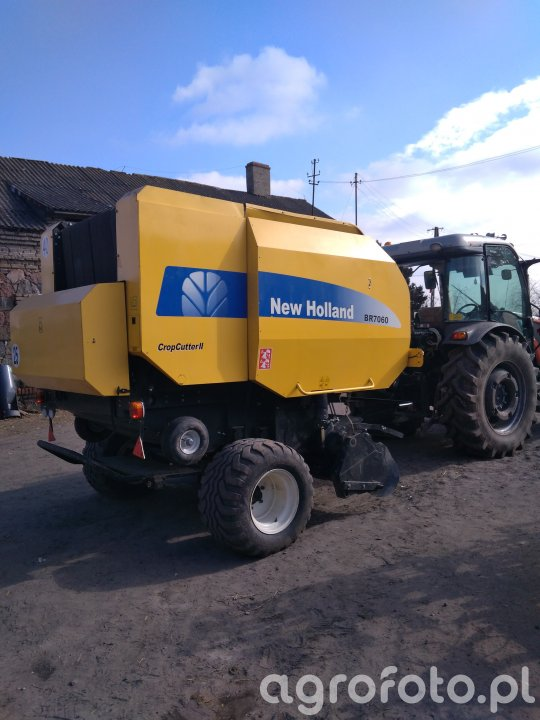 New Holland Br 7060 CropCutter II