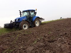 New Holland T6.165 & Lemken