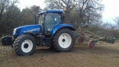 New Holland T6.175 + Fortschritt 5.20m
