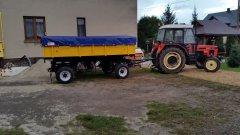 Przyczepa D47 - akcja kukurydza