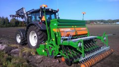 Valtra N123 + Amazone A3000D Super
