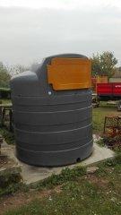 Zbiornik dwupłaszczowy na paliwo Swimer 2500 litrów
