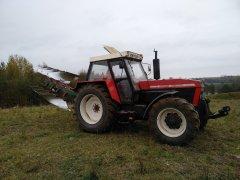 Zetor 14145 i Kverneland eg85 vario